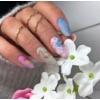 Kép 3/4 - 09 Semilac Transzfer fólia - Pink & Blue Marble