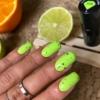 Kép 6/10 - 564 Semilac Uv Hybrid gél lakk Neon Lime 7ml
