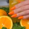 Kép 5/6 - 569 Semilac Uv Hybrid gél lakk Neon Orange 7ml