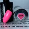 Kép 2/2 - 907 Semilac Uv Hybrid gél lakk - Coral Pink  7ml