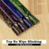Kép 4/5 - T15 Top No Wipe Blinking Blue & Violet Flakes 7ml