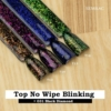 Kép 5/6 - T16 Top No Wipe Blinking Gold & Green Flakes 7ml