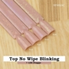 Kép 6/6 - T16 Top No Wipe Blinking Gold & Green Flakes 7ml