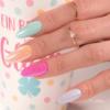 Kép 8/8 - T17 Top No Wipe Sparkling Pink  7ml