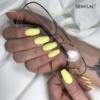 Kép 7/7 - 023 Semilac Uv Hybrid gél lakk Banana7ml