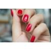 Kép 3/4 - 025 Semilac Uv Hybrid gél lakk Glitter Red 7ml