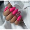 Kép 2/3 - 043 Színes Uv Zselé Semilac Electric Pink 5ml