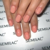 Kép 3/6 - 055 Semilac Uv Hybrid gél lakk Peach 7ml