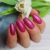 Kép 3/6 - 348 Semilac Uv Hybrid gél lakk Charming Ruby Glitter  7ml
