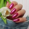 Kép 4/6 - 348 Semilac Uv Hybrid gél lakk Charming Ruby Glitter  7ml