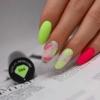 Kép 3/10 - 564 Semilac Uv Hybrid gél lakk Neon Lime 7ml