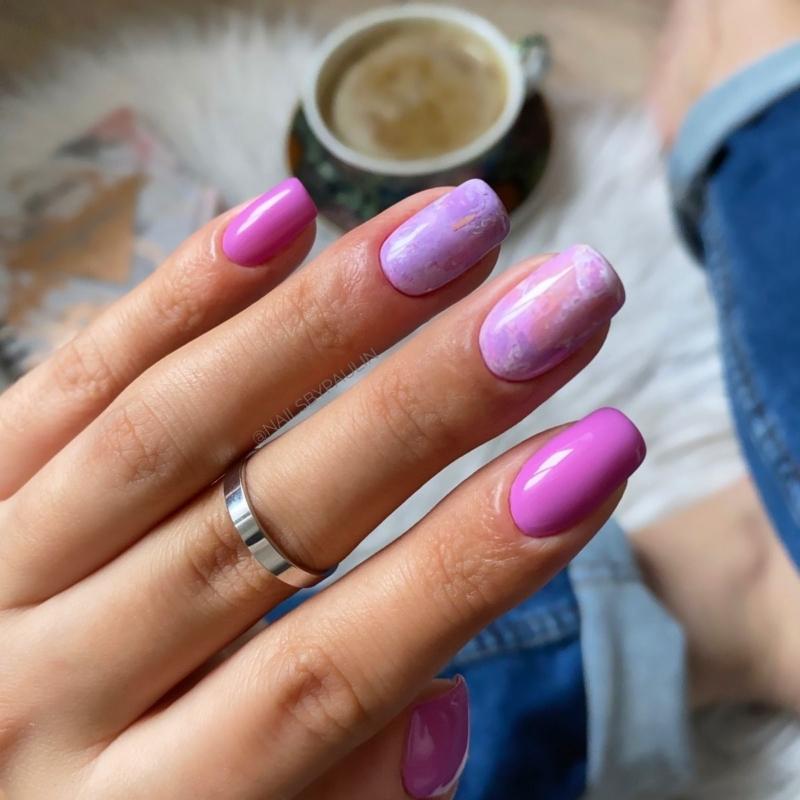 11 Semilac Transzfer fólia - Pink Marble