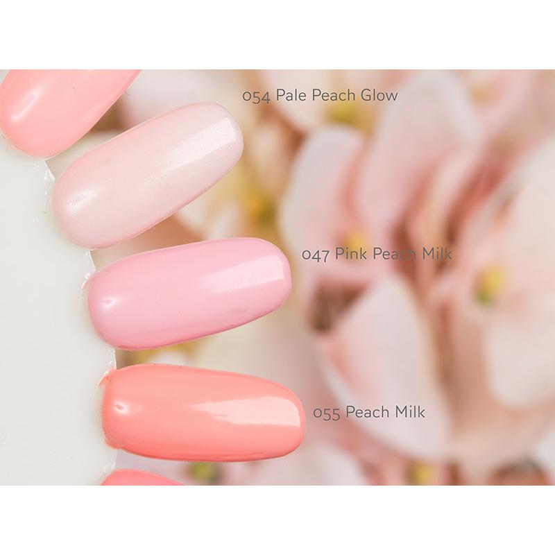 047 Semilac Uv Hybrid gél lakk Pink Peach Milk 7ml
