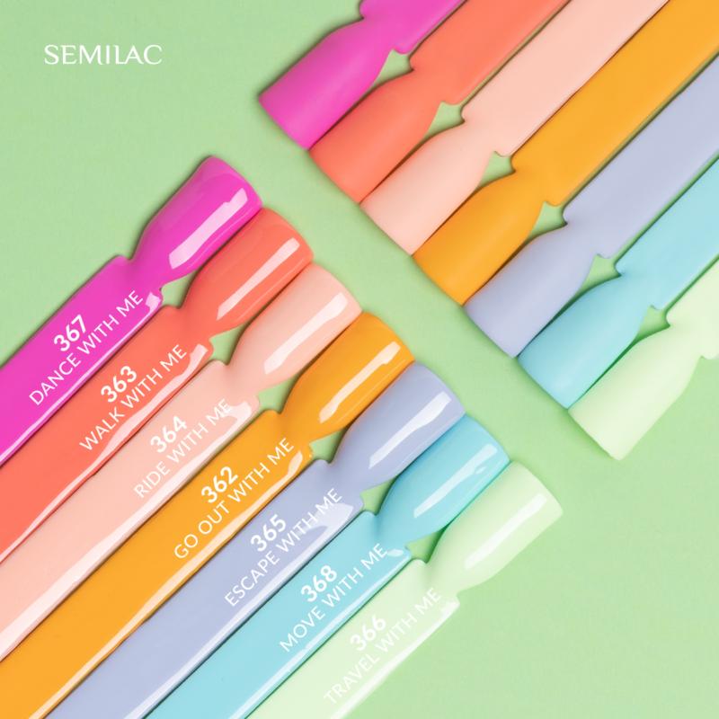 364 Semilac UV Hybrid gél lakk - Ride With Me 7ml