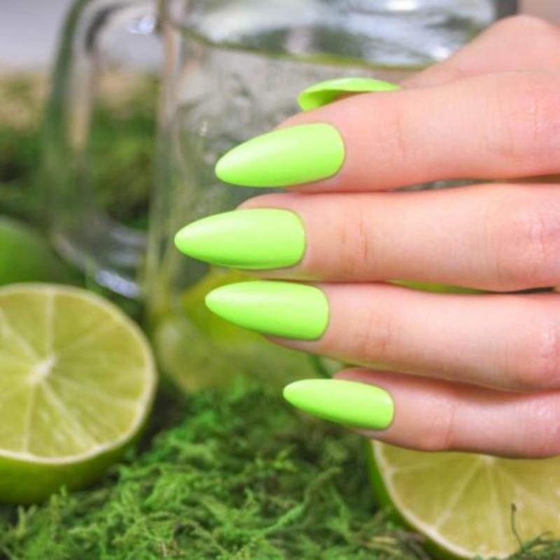 564 Semilac Uv Hybrid gél lakk Neon Lime 7ml