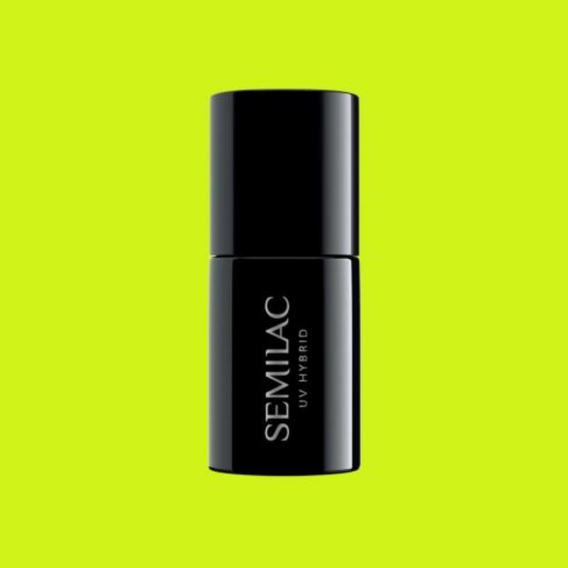 565 Semilac Uv Hybrid gél lakk Neon Yellow 7ml