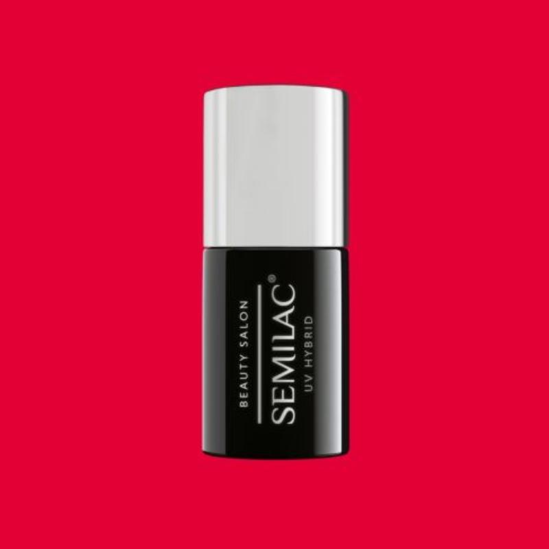 910 Semilac Uv Hybrid gél lakk - Only Red  7ml