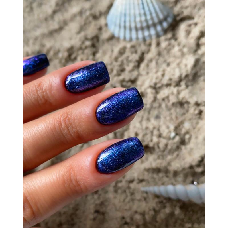 T18 Top no Wipe Sparkling Blue  7ml