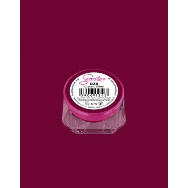 028 Színes Uv Zselé Classic Wine 5ml