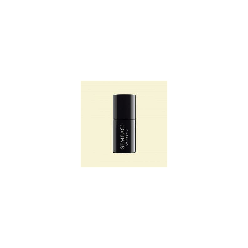 530 Semilac Uv Hybrid gél lakk Celebrate Delicate White 7 ml