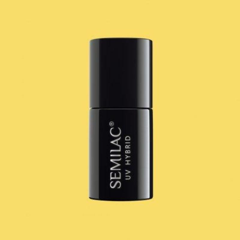 531 Semilac Uv Hybrid gél lakk Celebrate Joyful Yellow 7 ml