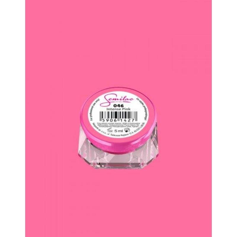 046 Színes Uv Zselé Semilac Intense Pink 5ml