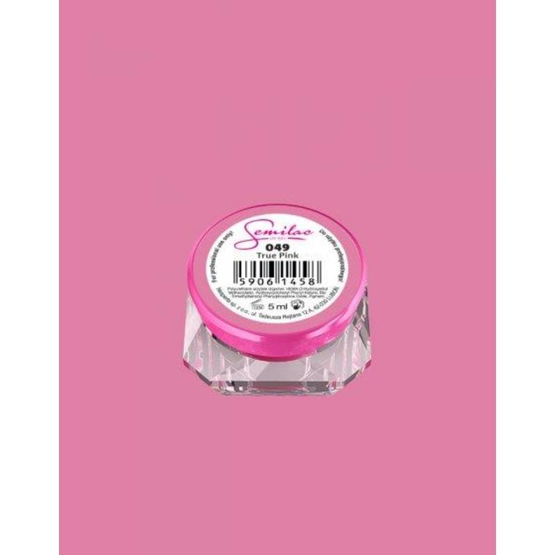 049 Színes Uv Zselé Semilac True Pink 5ml