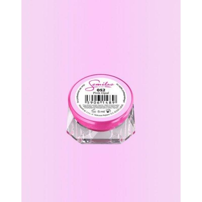 052 Színes Uv Zselé Semilac Pink Opal 5ml