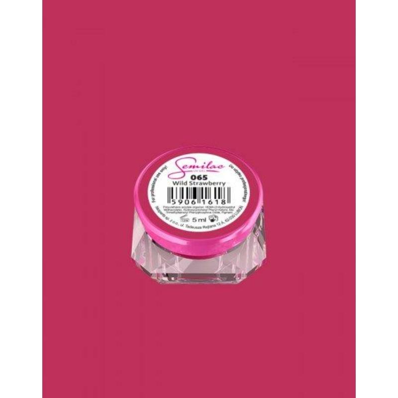 065 Színes Uv Zselé Semilac Wild Strawberry 5ml
