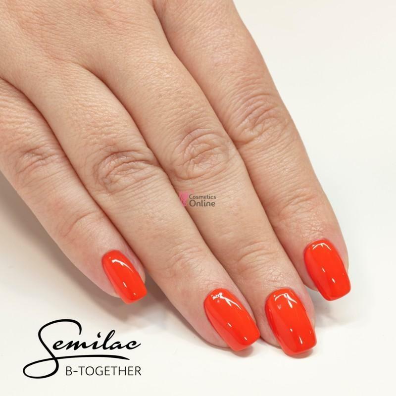 061 Színes Uv Zselé Semilac Juicy Orange 5ml