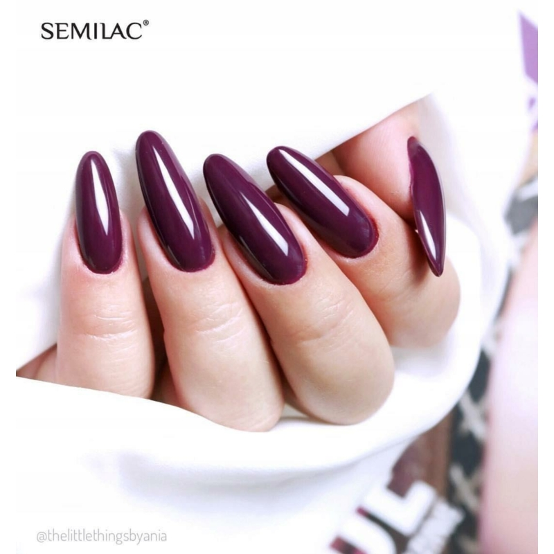 083 Színes UV Zselé Semilac Burgundy Wine 5ml
