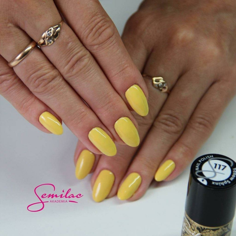 117 Színes Uv Zselé Semilac Yellow Sphinx 5ml