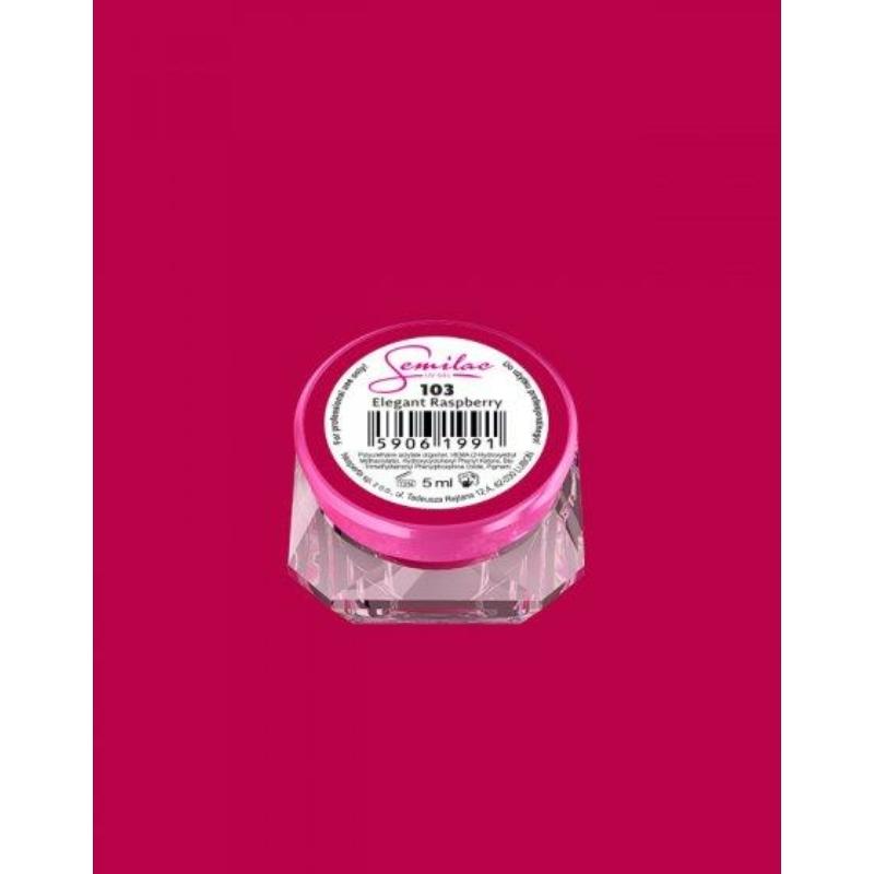 103 Színes Uv Zselé Semilac Elegant Raspberry 5ml