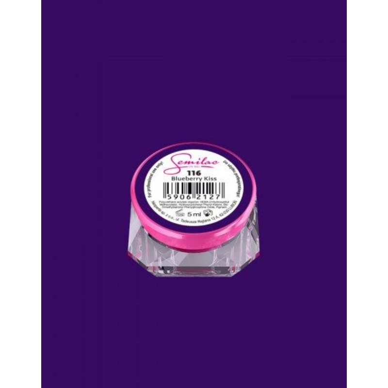 116 Színes Uv Zselé Semilac Blueberry Kiss 5ml
