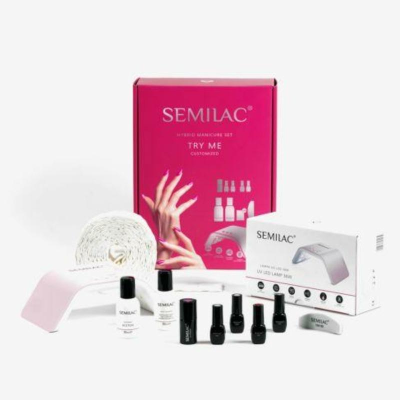 Semilac Try Me Indulókészlet 36W-os LED lámpával