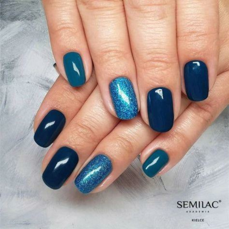 506 Semilac Uv Hybrid gél lakk Like A Mermaid  7ml