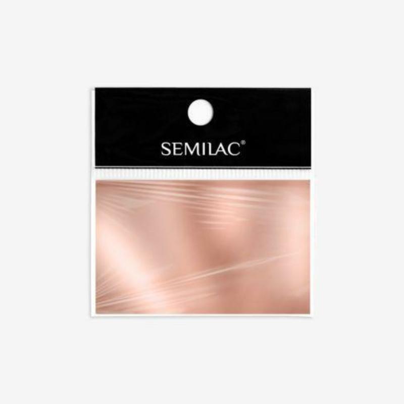 Semilac Transzfer fólia - Rose Gold