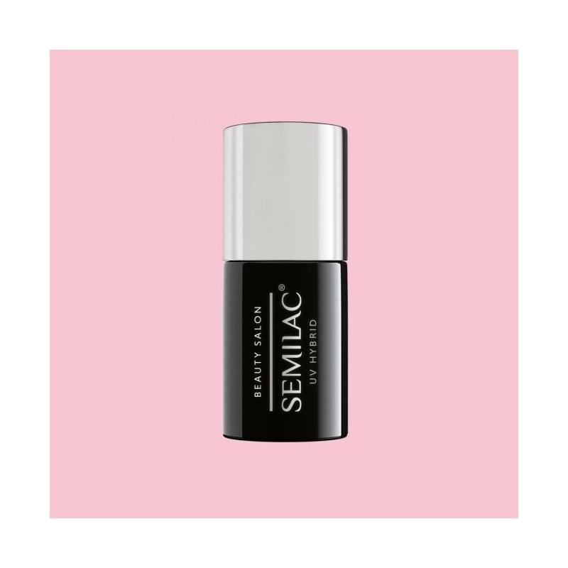 901 Semilac Uv Hybrid gél lakk Beauty Salon - Wedding Pink  7ml