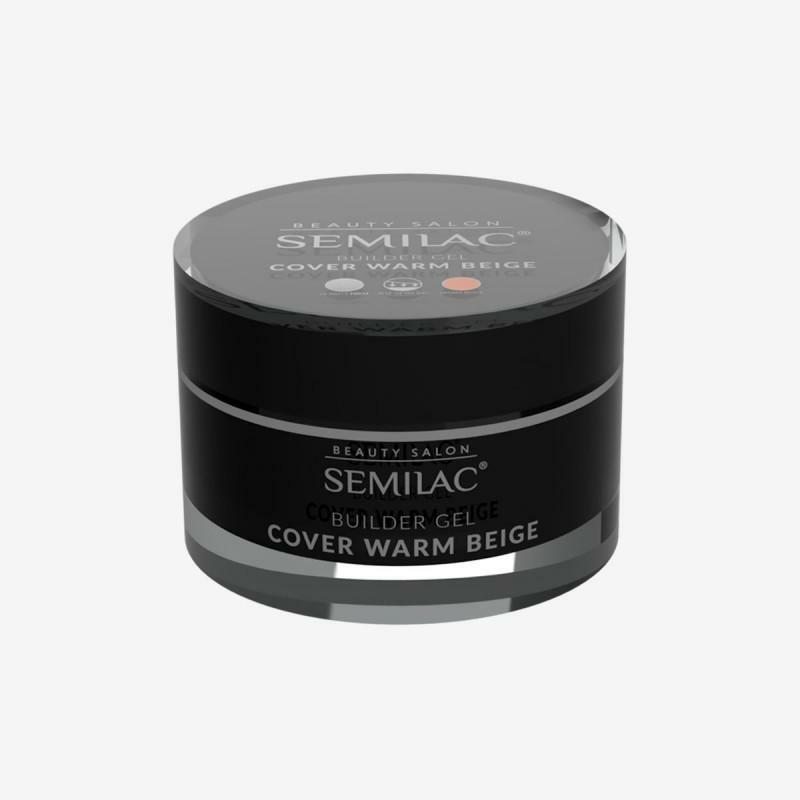 Semilac Builder gel- Cover Warm Beige 50ml