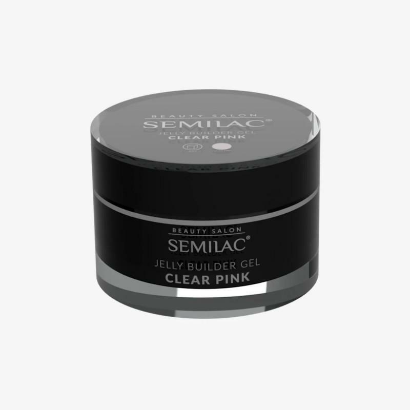 Semilac Builder gel - Clear Pink  50ml