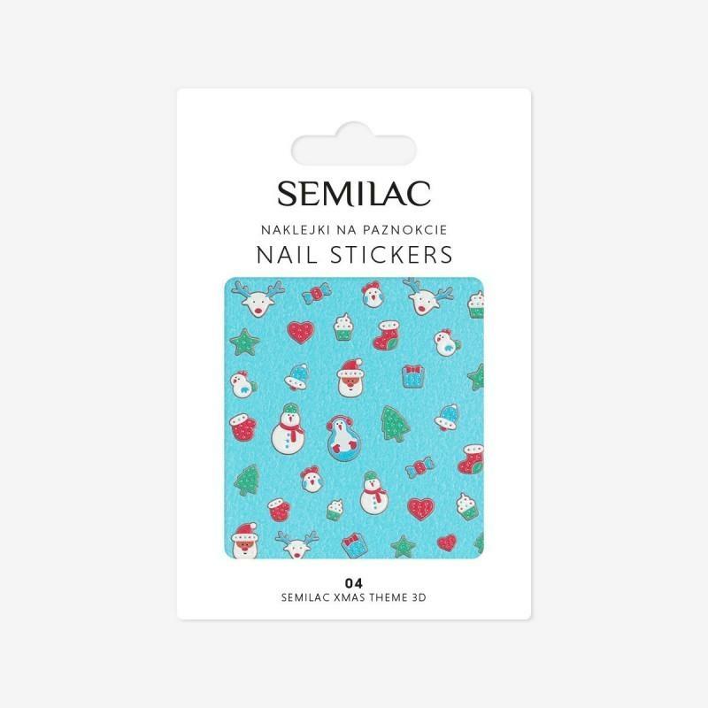 Semilac 3D Köröm matrica csomag  #04