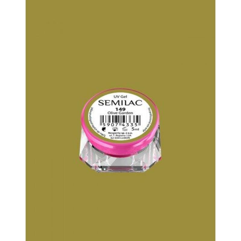 149 Színes Uv Zselé Semilac Olive Garden 5ml