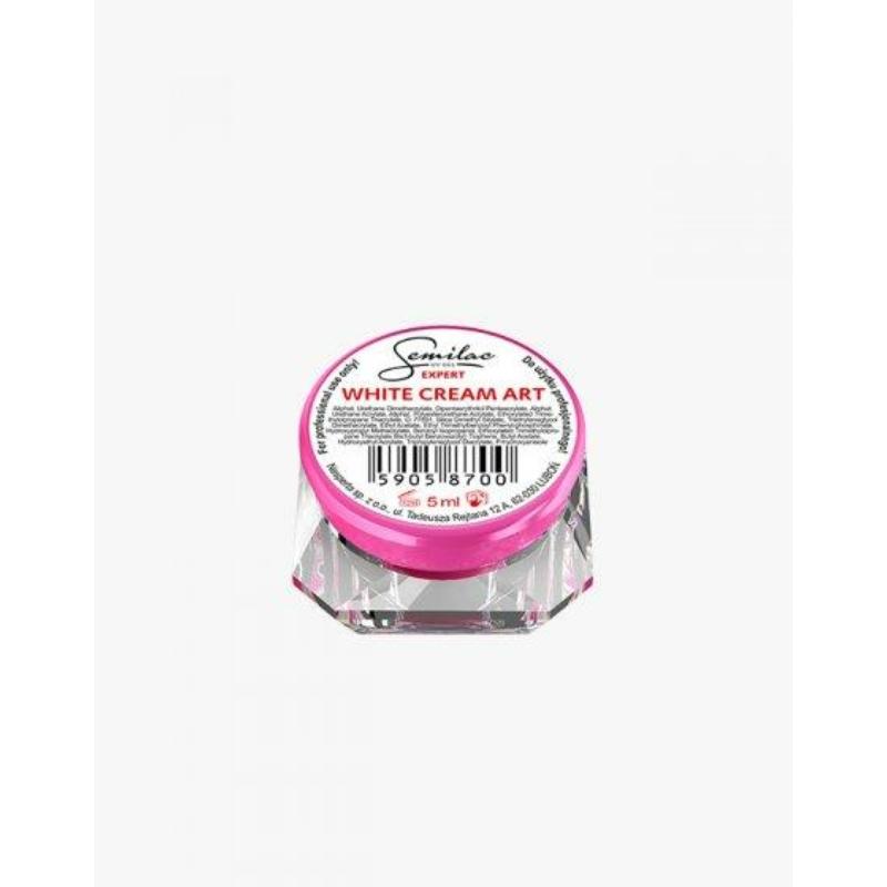 Semilac Díszítő Uv Zselé White Cream Art 5ml