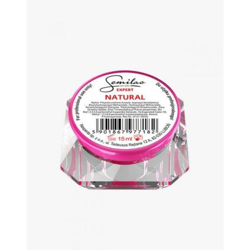 Semilac Uv Építő Zselé Expert Natural 15 ml