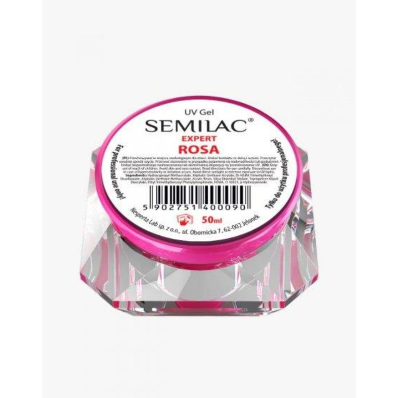 Semilac Uv Építő Zselé Rosa 50 ml