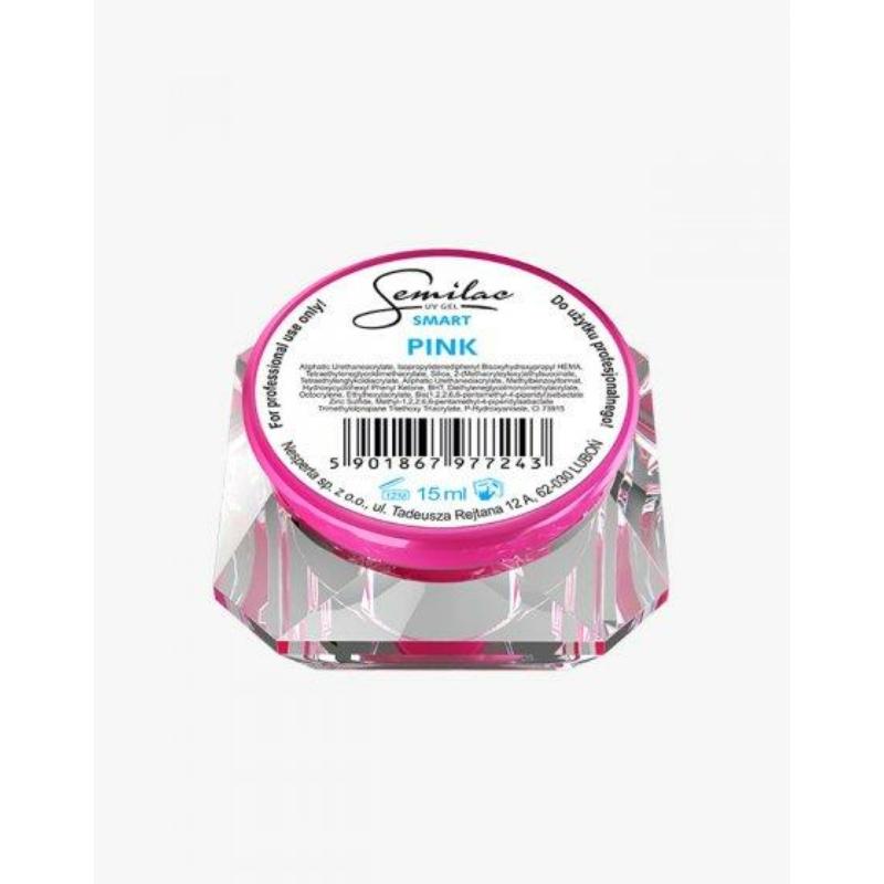 Semilac Uv Építő Zselé Smart Pink 15ml