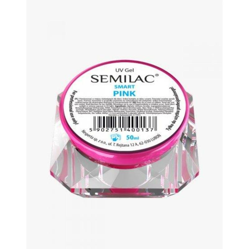 Semilac Uv Építő Zselé Smart Pink 50ml