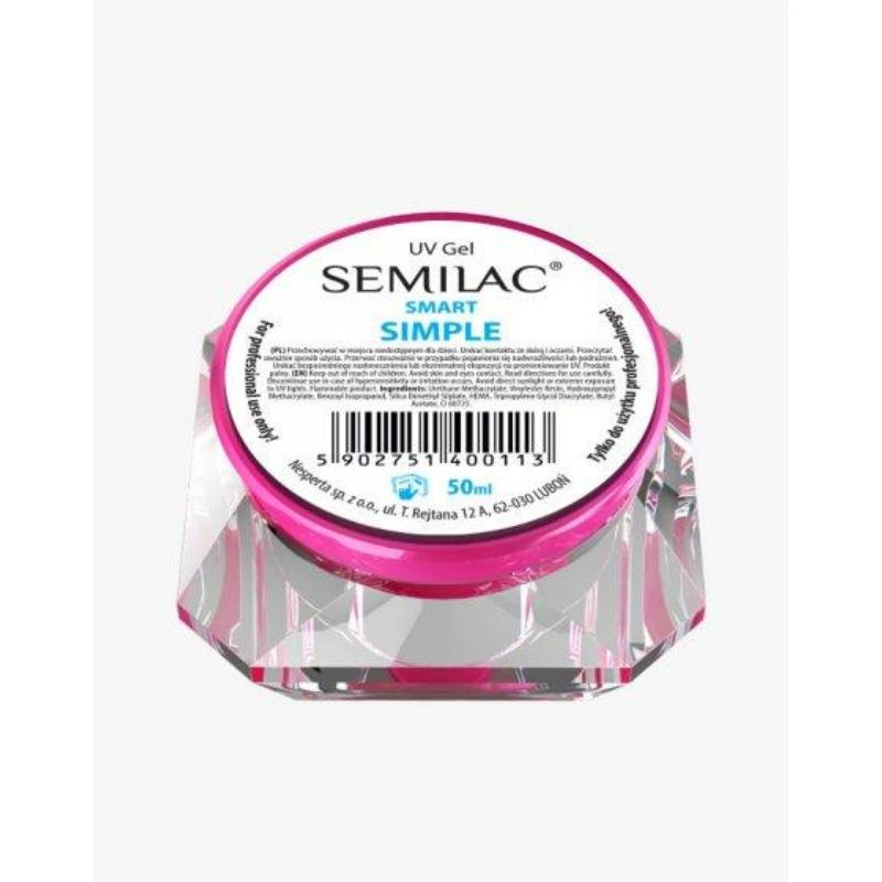 Semilac Uv Építő Zselé Smart Simple 50ml