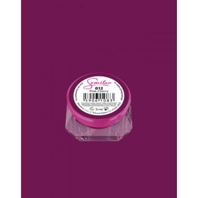 012 Színes Uv Zselé Pink Cherry 5ml
