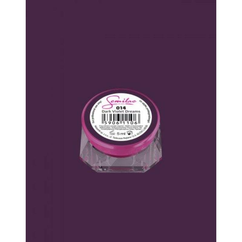 014 Színes Uv Zselé Dark Violet Dreams 5ml